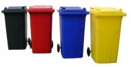 Cubo de basura de 240L colores