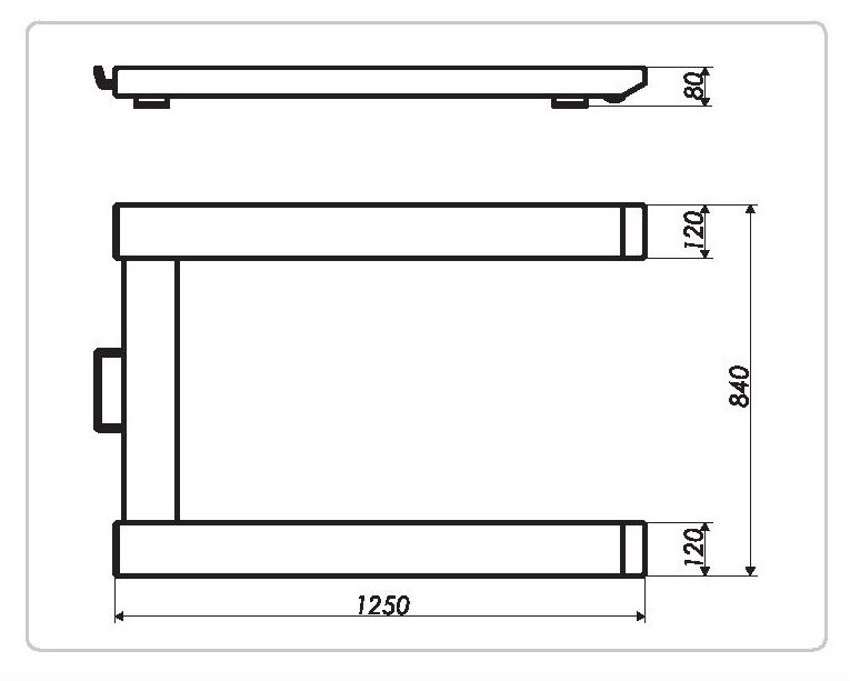 Plataforma Pesadora para Palets