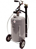 Aspirador de aceite usado