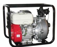 Motobomba de agua alta presión