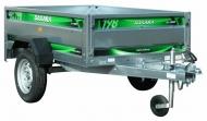Remolque  vehículo  DAXARA 198