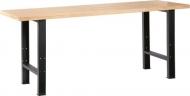Mesa de trabajo  madera 2 m.