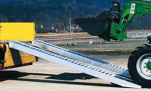 Rampa Aluminio Descarga de Vehículos