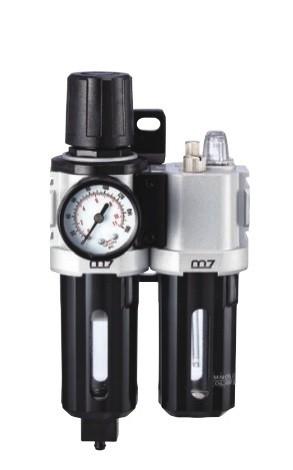 Filtro de aire con regulador y lubricante serie Mighty Seven.