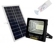 Foco solar led con mando a distancia 60 w