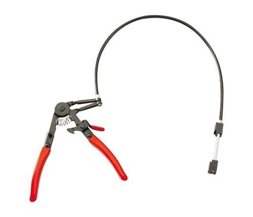 Alicate abrazadera con cable