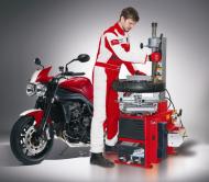 Desmontadora de ruedas  para moto