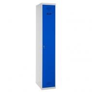 Taquilla metalica de 1 puerta (montada)