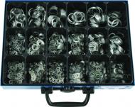 Maleta de arandelas de aluminio