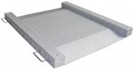 Báscula extraplana aluminio