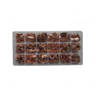Surtido de arandelas de cobre
