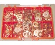 Caja arandelas de cobre diesel