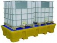 Cubetas de polietileno 2 depositos 1000L