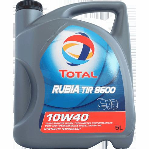 Aceite 10W40  Total rubia tir 8600