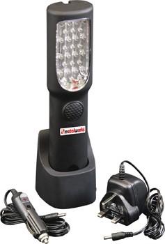 Lámpara  28 Leds recargable