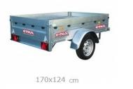 Remolque para coche Erka 868