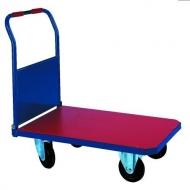 Carro plataforma abatible