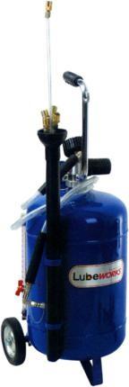Aspirador para aceite usado por extracción.