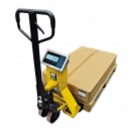 Transpaleta pesadora  e impresora  opcional