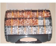 Arancelas  de cobre, aluminio