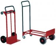 Carro plataforma rojo