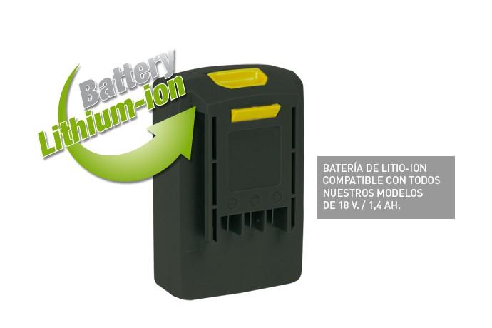 Soplador a bateria
