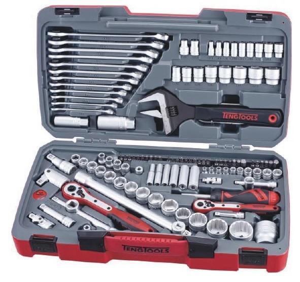 Juego de herramientas de 127 piezas.