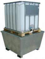 Cubetos retención para 1 depósito de 1000 litros.