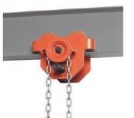Carro de cadena para polipasto
